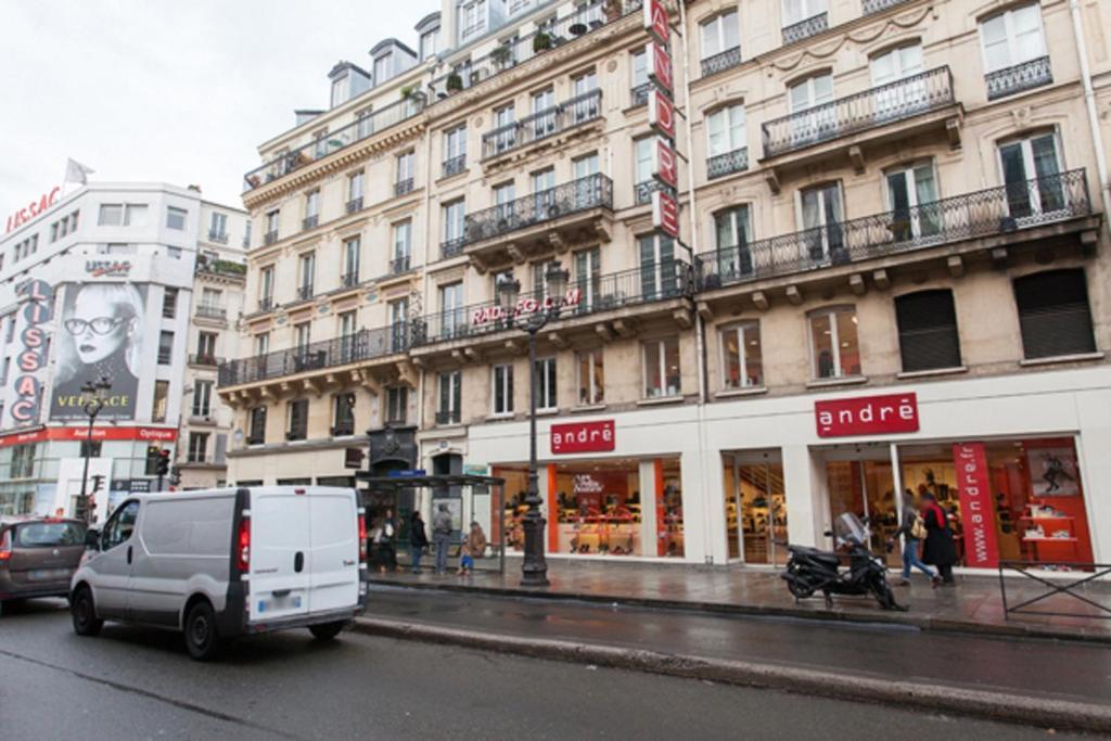 Hotel Parigi Rue De Rivoli