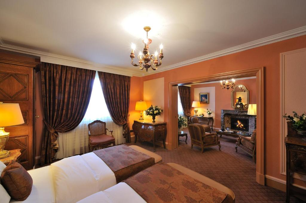 Restaurant Hotel De La Cigogne Geneve