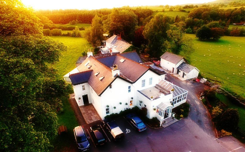Una vista aérea de White House Country Inn