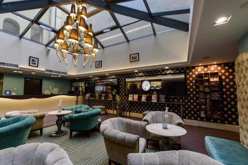 O lounge ou bar de La Prima Fashion Hotel Budapest