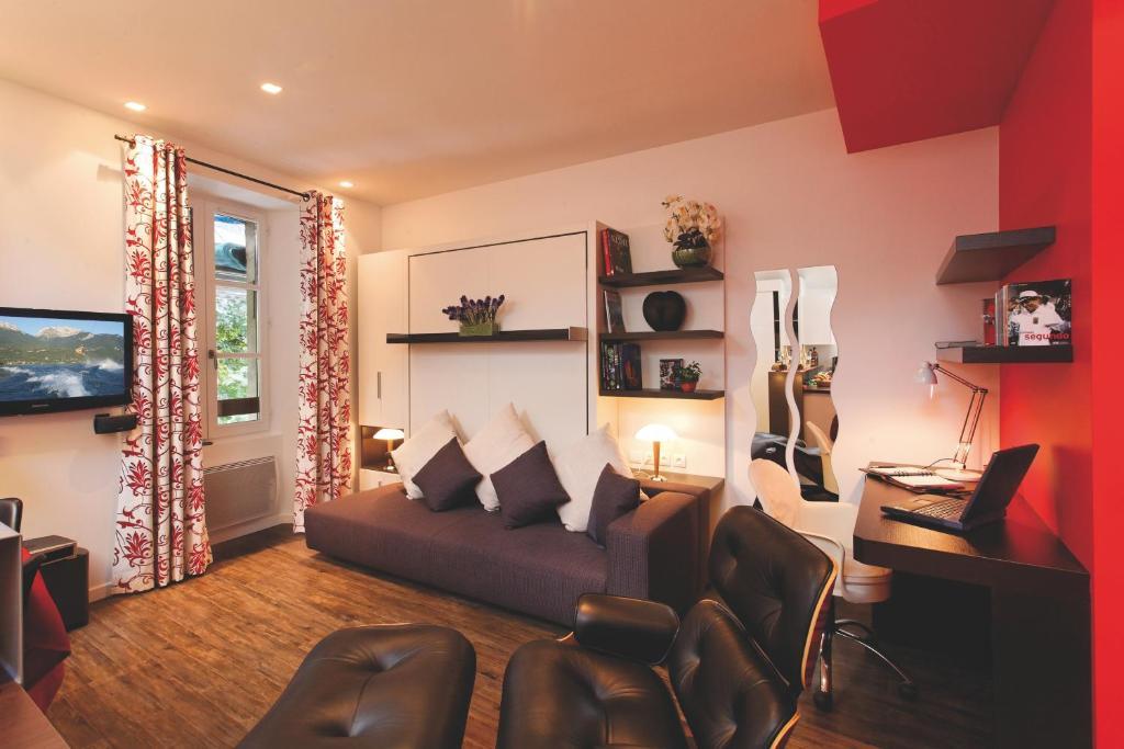 Appartement studio la savoyarde vision luxe locations - Appartement de luxe studio schicketanz ...