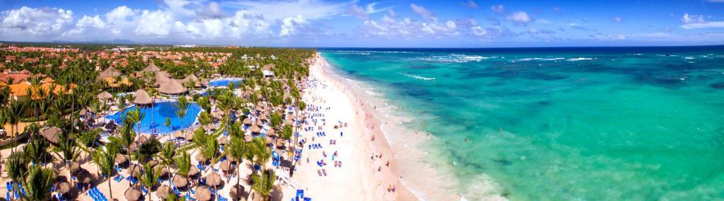 Una vista aérea de Grand Bahia Principe Punta Cana