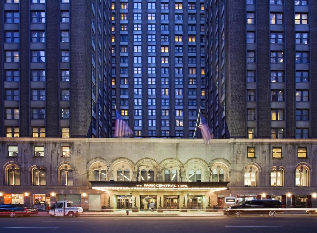 Hotel park central eua nova york for Central de reservation hotel
