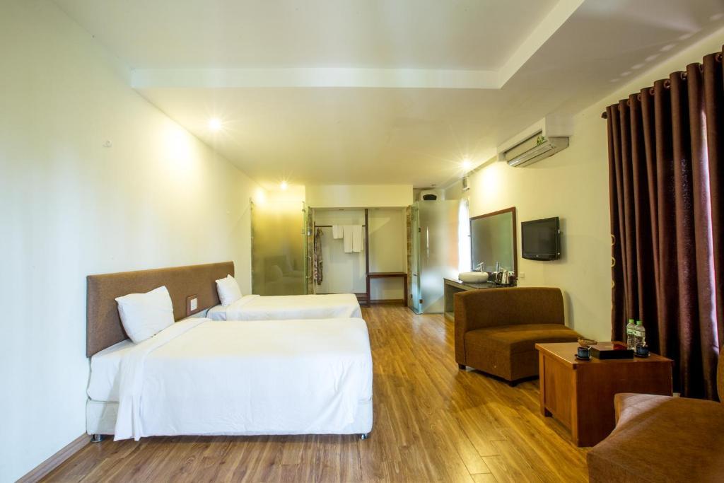 Phòng Grand Superior đôi hoặc 2 giường đơn.
