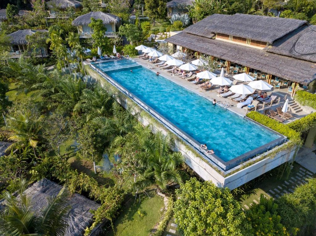 Tầm nhìn từ trên cao của Lahana Resort Phu Quoc