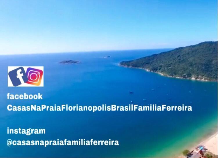 c6292ee7f605 Uma vista aérea de Tu Casa de la Playa Vacaciones en Florianópolis Brasil