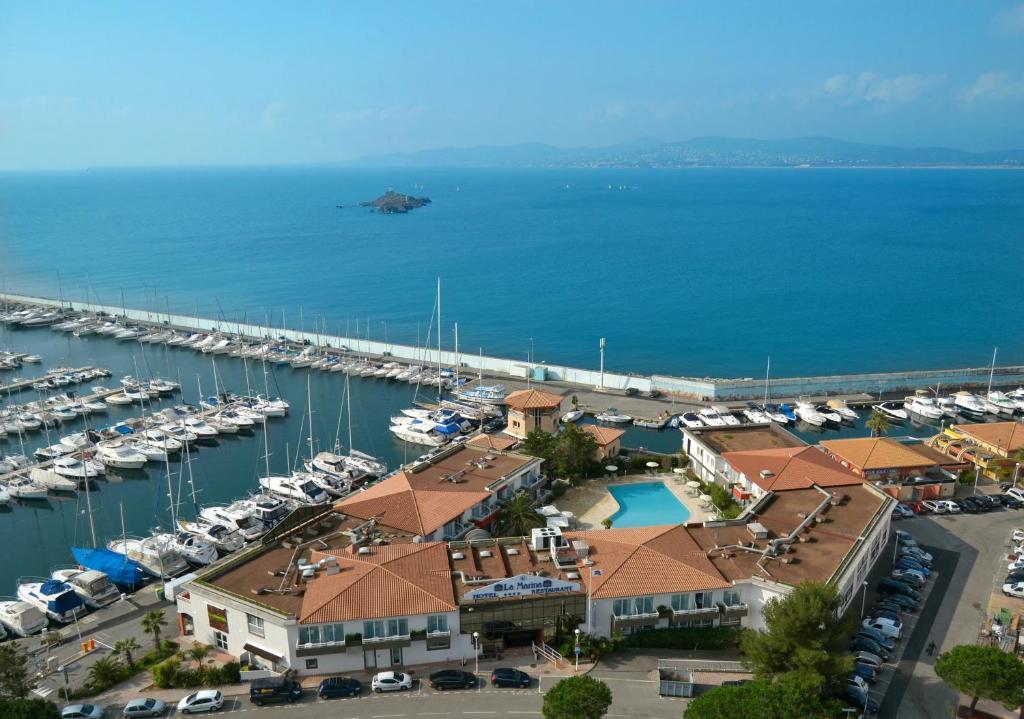 Best western la marina r servation gratuite sur viamichelin - Meteo marine port camargue saint raphael ...