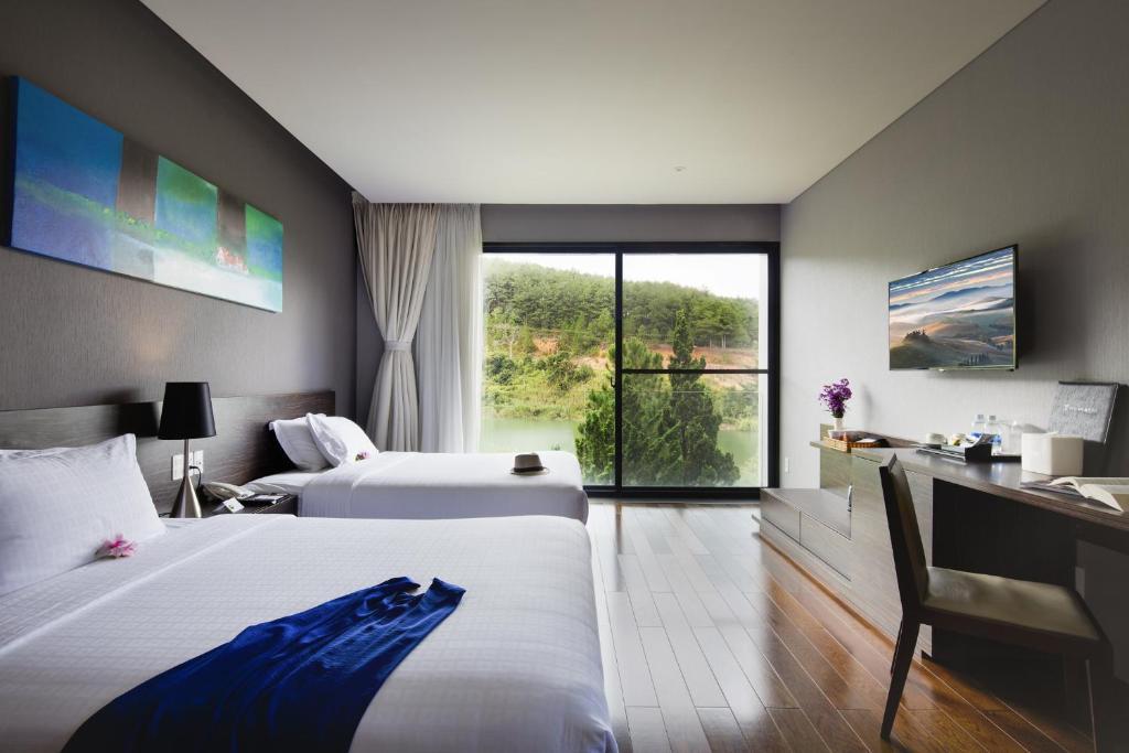 Phòng Premium 2 Giường Đơn Trong Biệt Thự