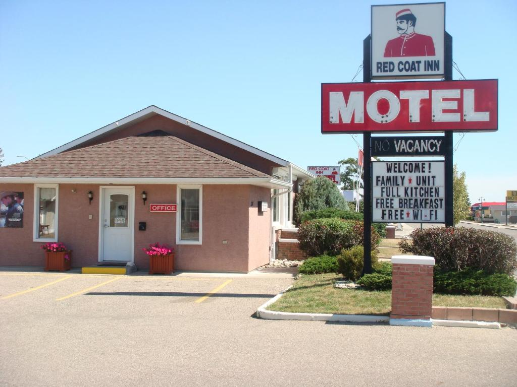 red coat inn motel r servation gratuite sur viamichelin