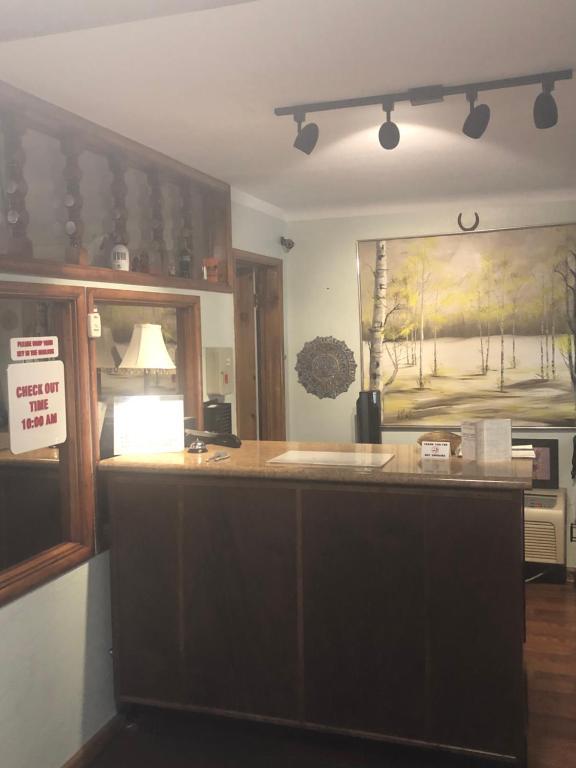 El lobby o recepción de Westerner Motel
