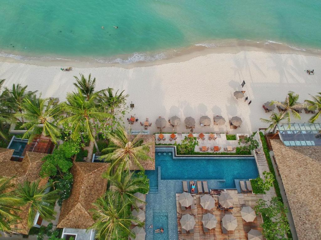 מבט מלמעלה על Banana Fan Sea Resort