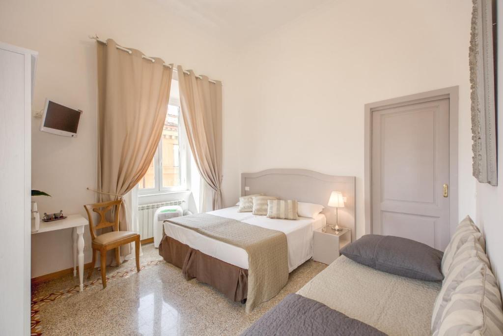 O Biancorèroma B&B é uma boa opção de hospedagem em Monti