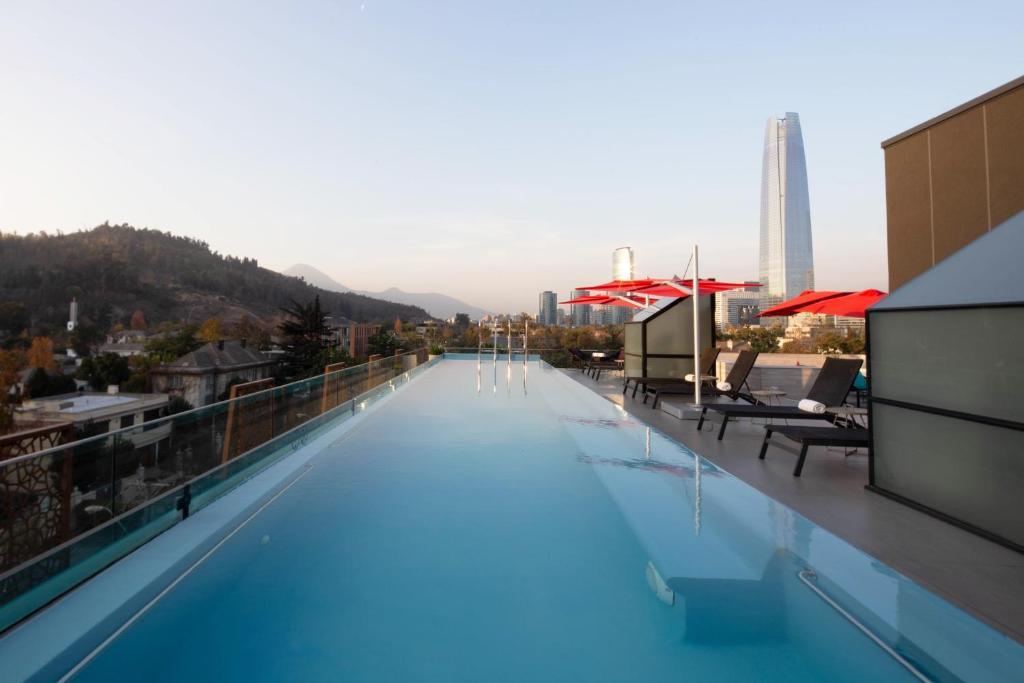 A piscina localizada em Ladera Boutique Hotel ou nos arredores
