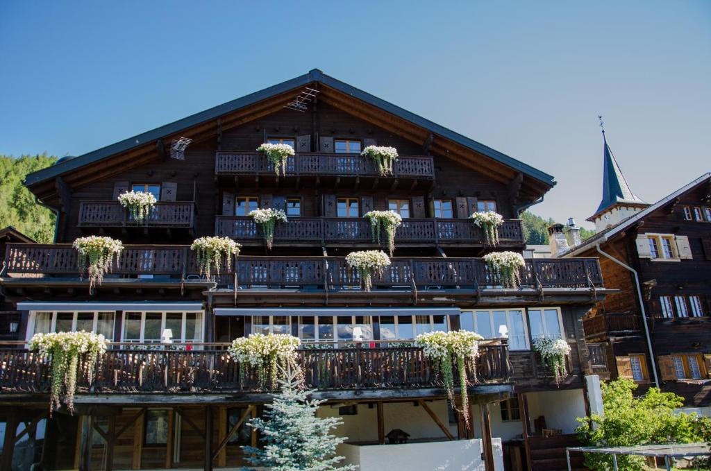 h 244 tel le grand chalet favre sierre book your hotel with viamichelin