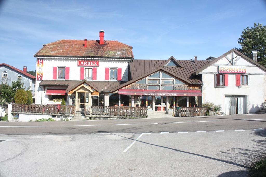 Waadt La Cure Hotel Franco