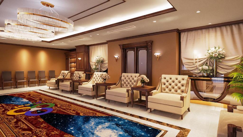 Suite Hạng Tổng Thống Với 2 Giường Cỡ King