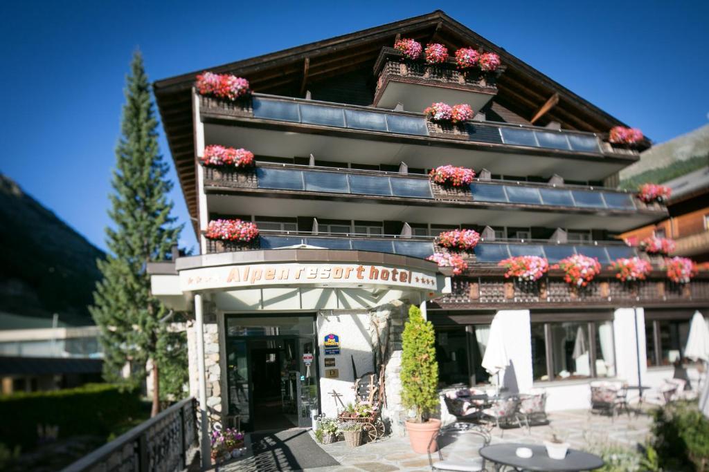 best western plus alpen resort hotel zermatt book your. Black Bedroom Furniture Sets. Home Design Ideas