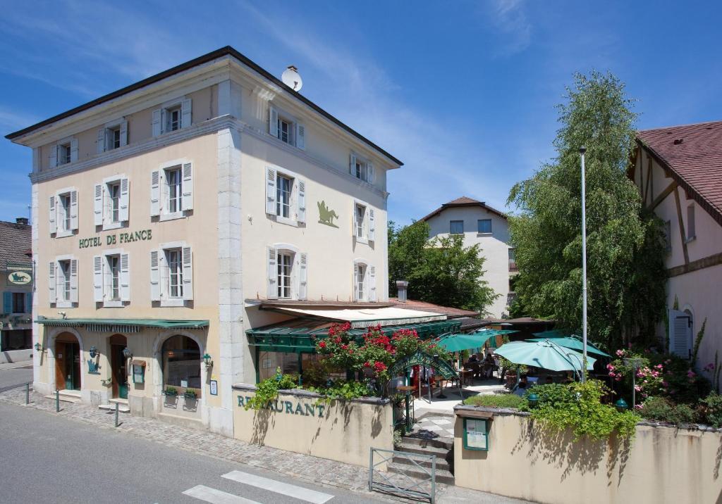 H tel de france ferney voltaire informationen und for Michelin hotel france