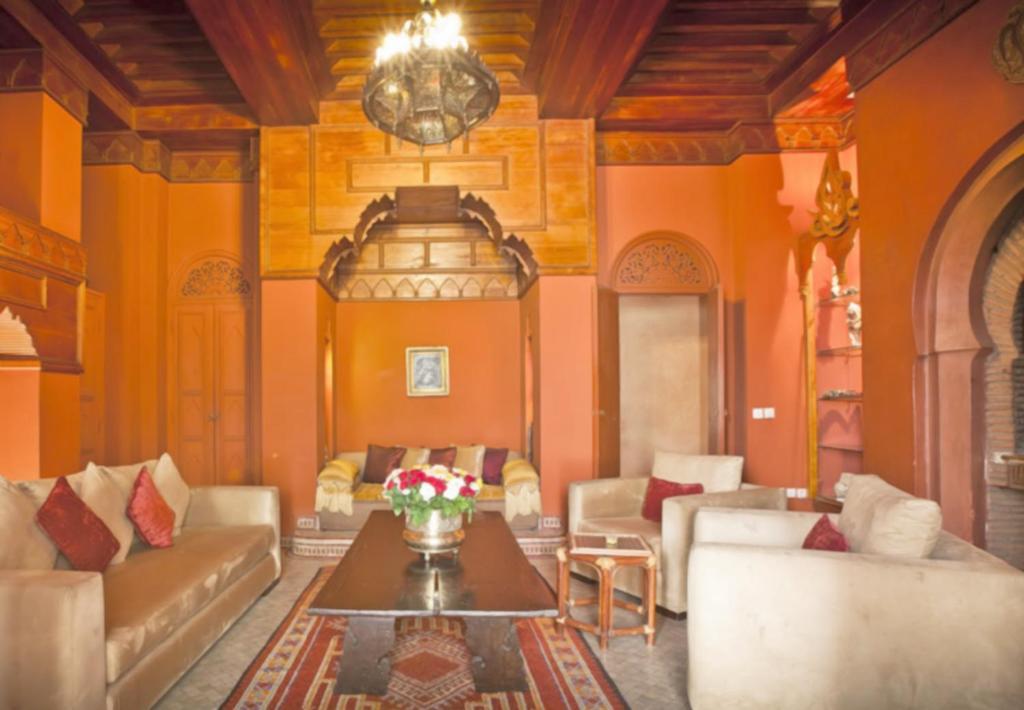 Riad monika chambres d 39 h tes marrakech for Chambre d hotes marrakech