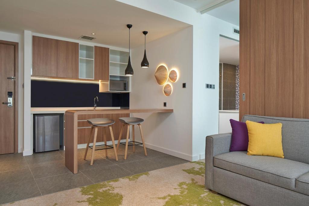 Suite 1 Phòng Ngủ Có Giường Cỡ King Và Bếp Nhỏ - Không Hút Thuốc