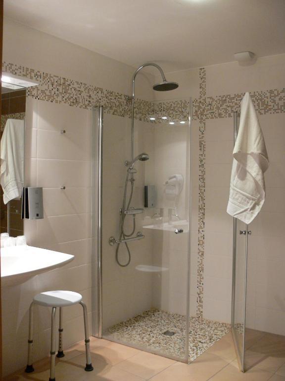 Logis le champalud champtoceaux reserva tu hotel con - Douche al italienne photo ...