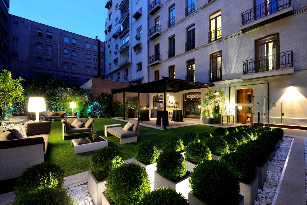 Hotel nico madrid madrid prenotazione on line for Hotel design madrid