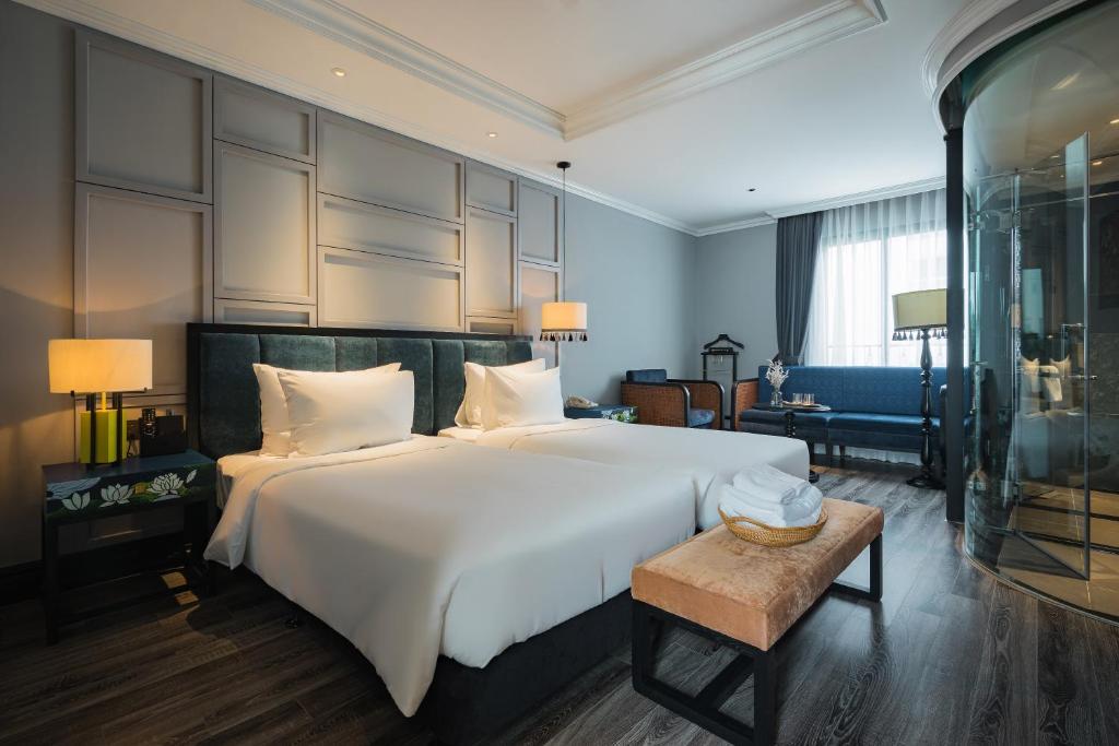 Phòng Solaria Giường Đôi/2 Giường Đơn Kèm 2 Ly Cocktail