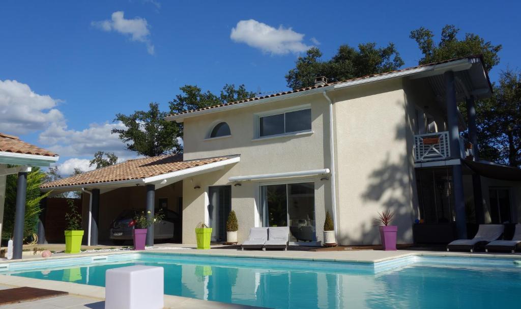 Chambres d 39 h tes villa aquitaine r servation gratuite for Chambre d hote aquitaine