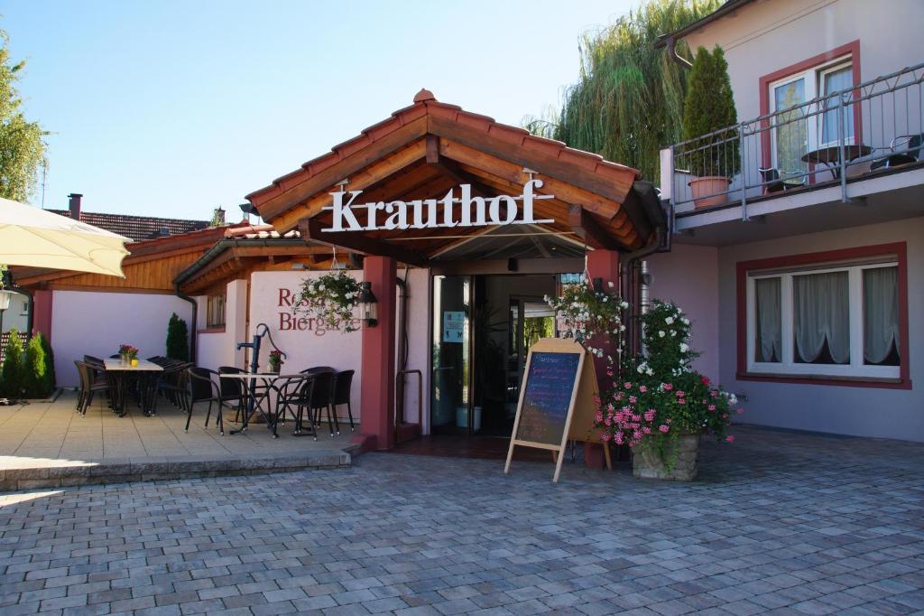 Hotel Restaurant Krauthof Beihinger Str   Ludwigsburg