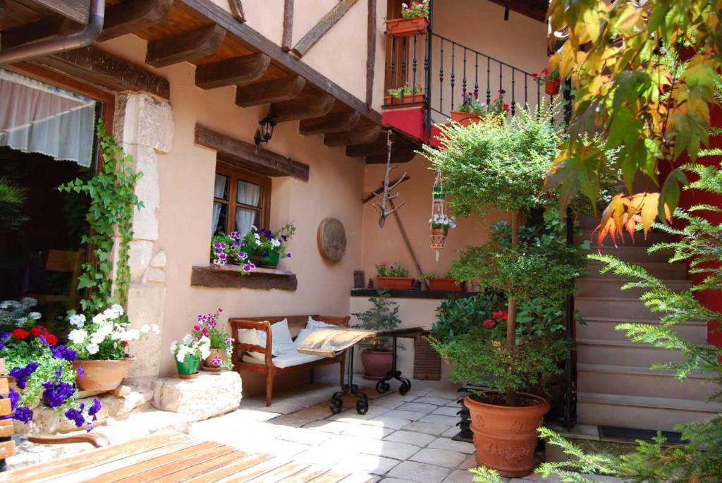 Hotel rural el zagu n r servation gratuite sur viamichelin - Casas con patio interior ...