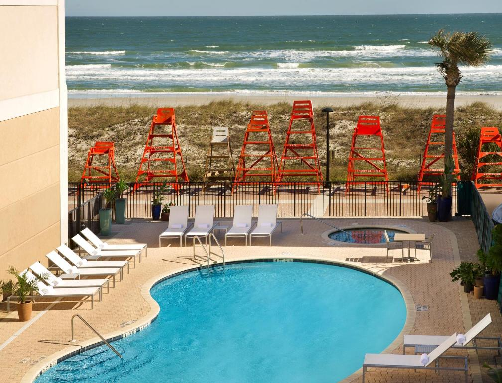 Four Points By Sheraton Jacksonville Beachfront Jacksonville Beach Book Your Hotel With