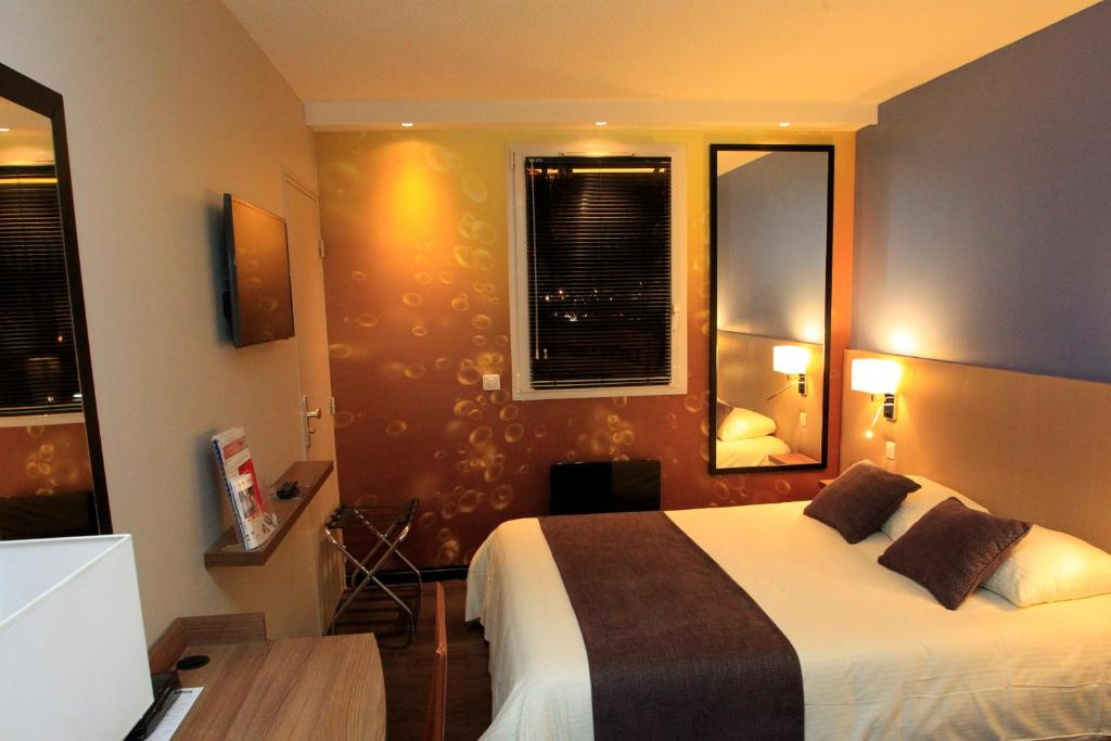 Qualys hotel reims tinqueux saint brice courcelles for Hotels reims