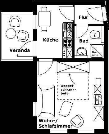 Apartments haus eintracht sellin sellin prenotazione for Haus eintracht sellin