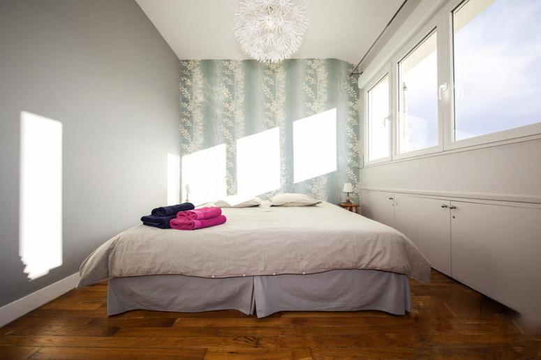 Двухкомнатные апартаменты в париже