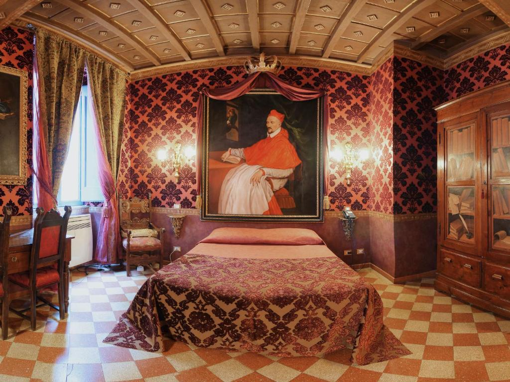 Chambres d 39 h tes antica dimora de michaelis chambres d for Chambre hote design rome