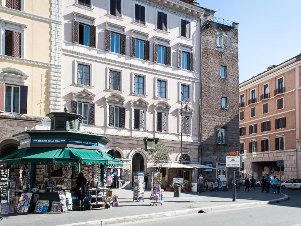 Chambres d 39 h tes relais rione ponte chambres d 39 h tes rome for Chambre hote rome