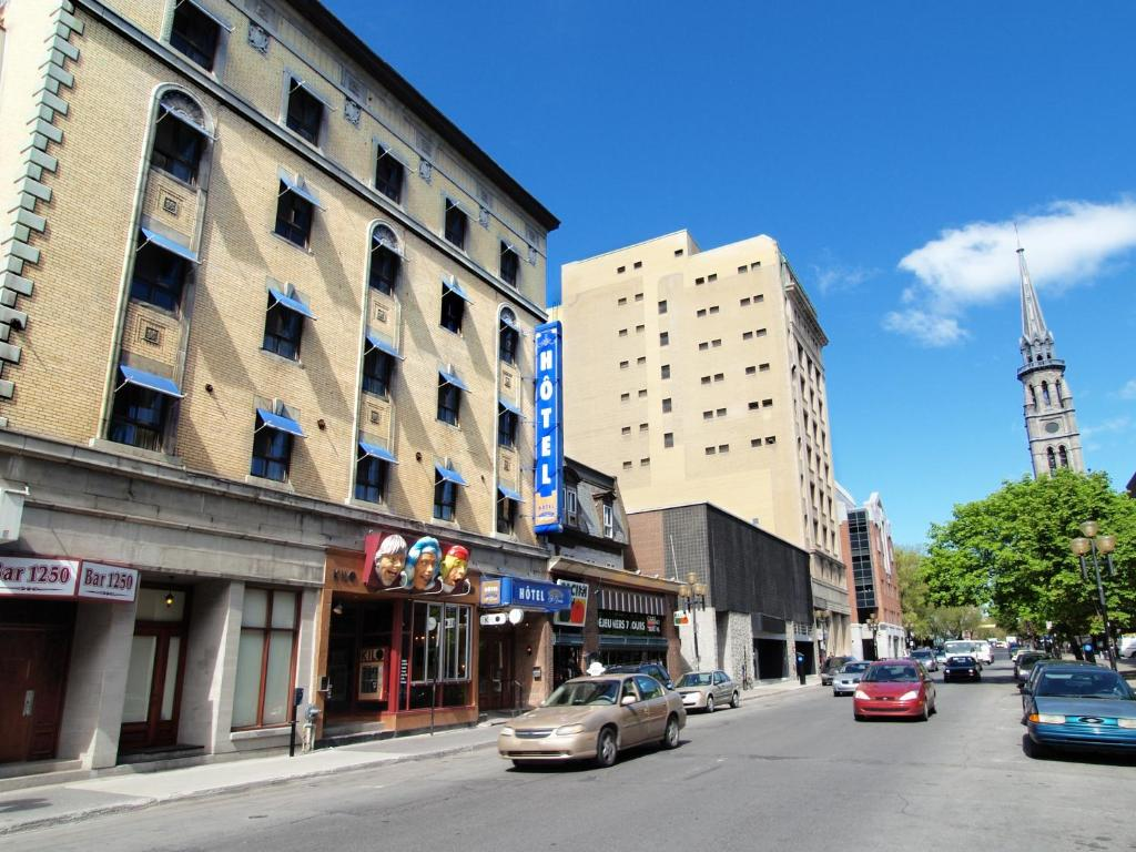 Hotel st denis montr al book your hotel with viamichelin for Meubles montreal st denis