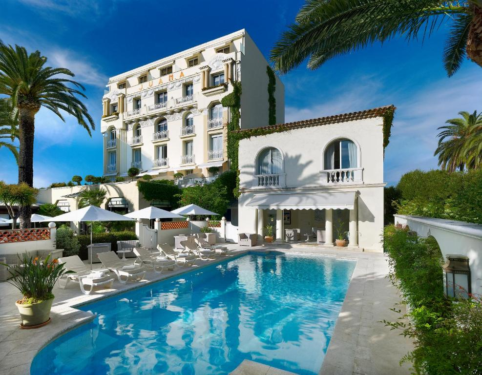 H tel juana antibes online booking viamichelin for Hotels juan les pins