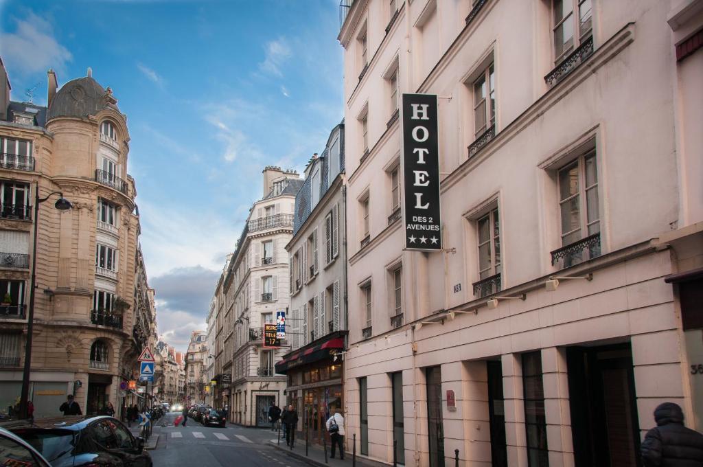 H tel des deux avenues paris informationen und for Hotels 75017