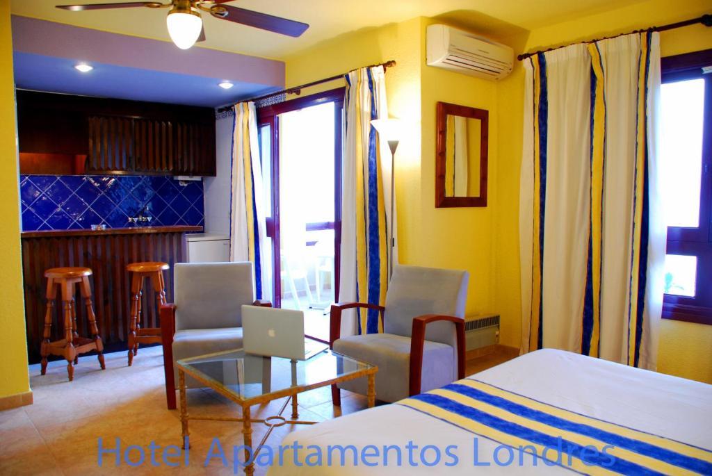 Hotel apartamentos londres la manga la uni n online booking viamichelin - Apartamentos en londres booking ...
