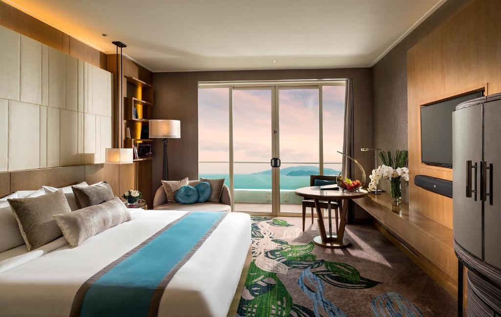 Phòng Deluxe có Giường cỡ King - Nhìn ra Biển