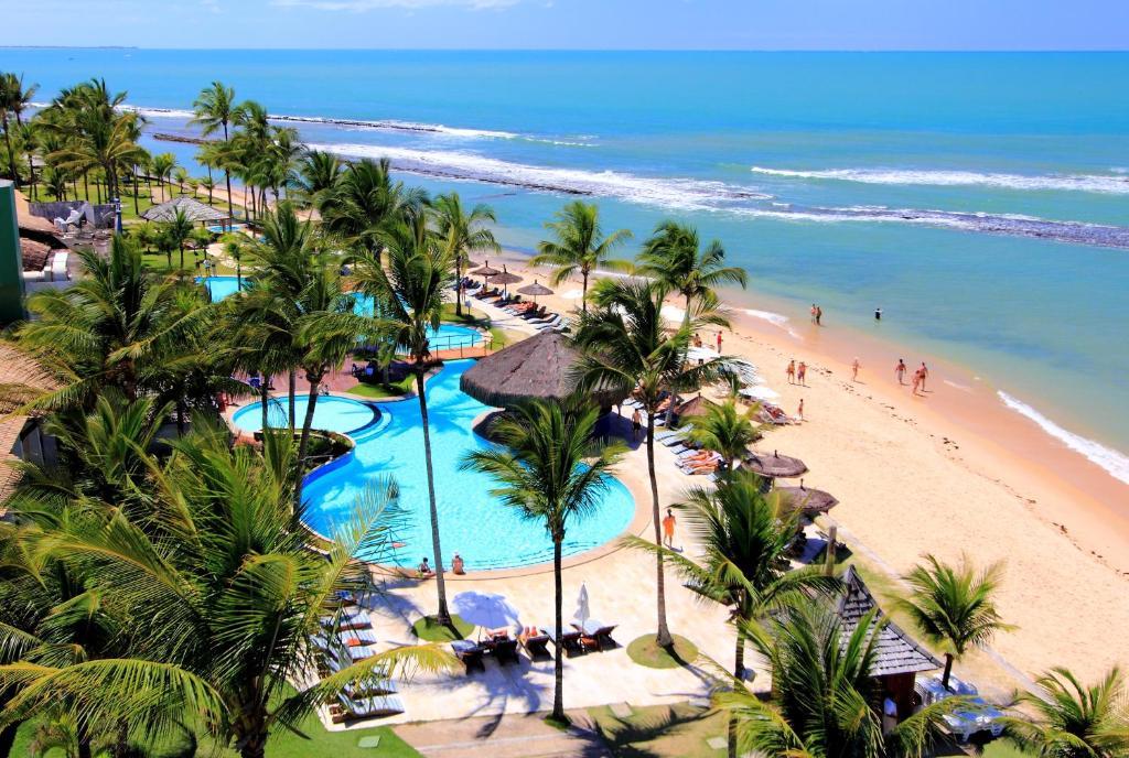 Uma vista da piscina em Arraial D'ajuda Eco Resort ou nos arredores