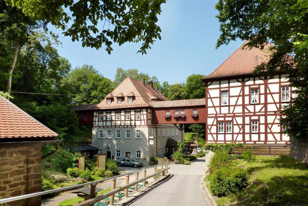 Waldgasthof Wildbad Burgbernheim Informationen Und