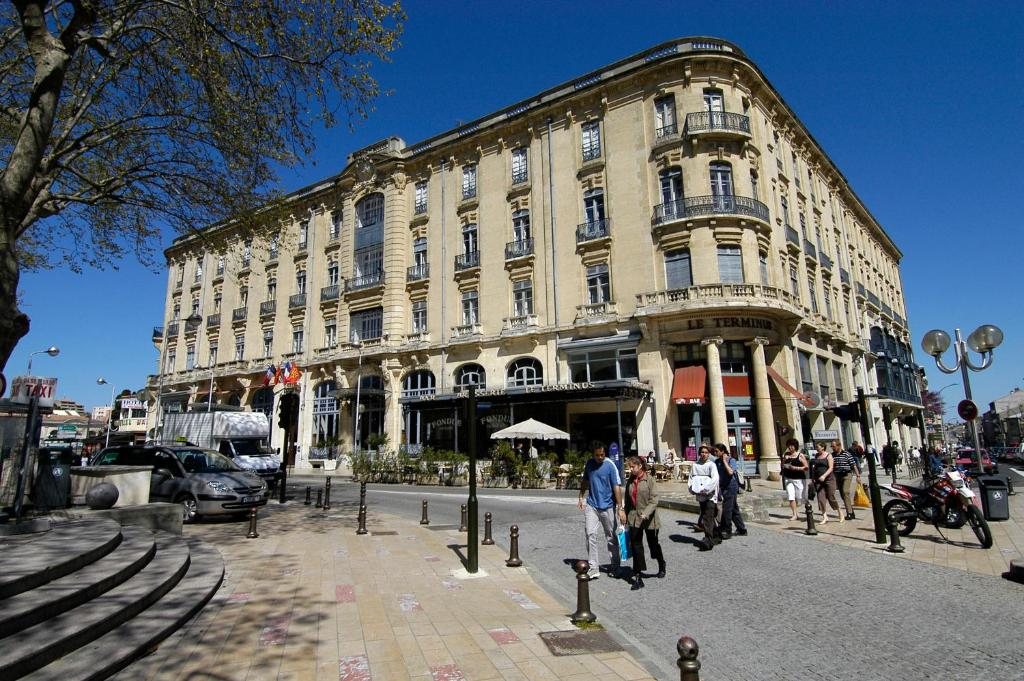 H tel du soleil le terminus carcassonne online booking for Hotels carcassonne