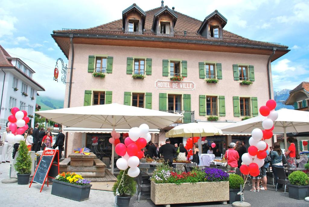 Hotel De Ville Chateau D Oex