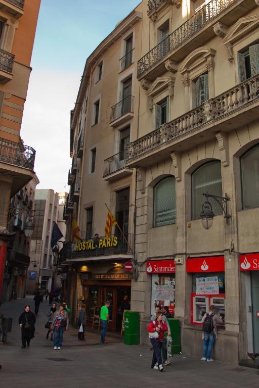 Hostal paris r servation gratuite sur viamichelin for Hotel paris barcelona
