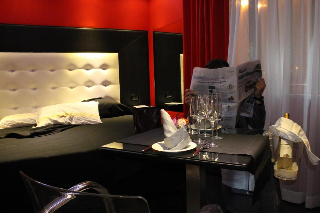 Kleopatra design hotel r servation gratuite sur viamichelin for Hotel design naples