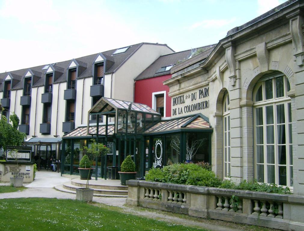 H tel restaurant du parc de la colombi re longvic book for Hotels dijon