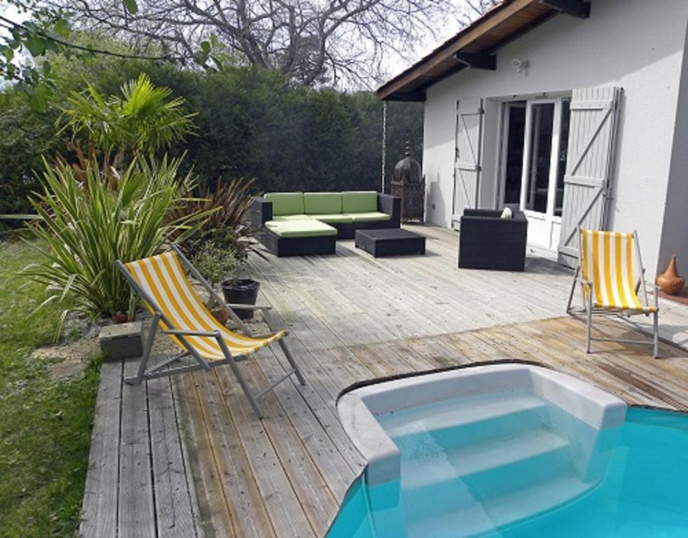 Villa mogador piscine et baln o andernos les bains - Piscine andernos les bains ...