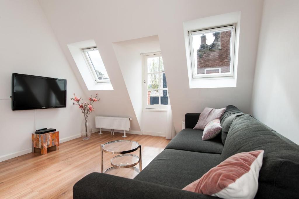 Un lugar para sentarse en Cityden Centre Serviced Apartments
